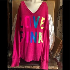 VICTORIA SECRET LONG SLEEVE TEE SHIRT